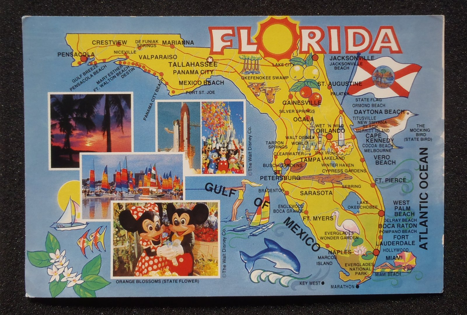 Download This Free Poster Of Famous US Landmarks ShareAmerica - Florida map showing marco island