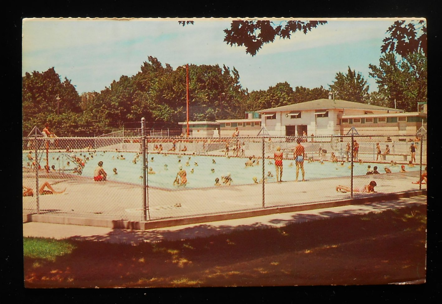 1970s New Indian Mounds Swimming Pool Quincy Il Adams Co