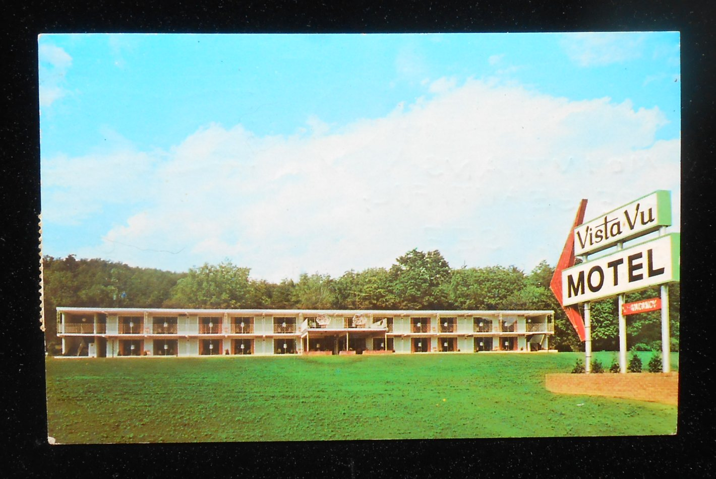 1967 vista vu motel route 22 glenn i fry no swimming pool huntingdon pa pc ebay Huntingdon swimming pool timetable