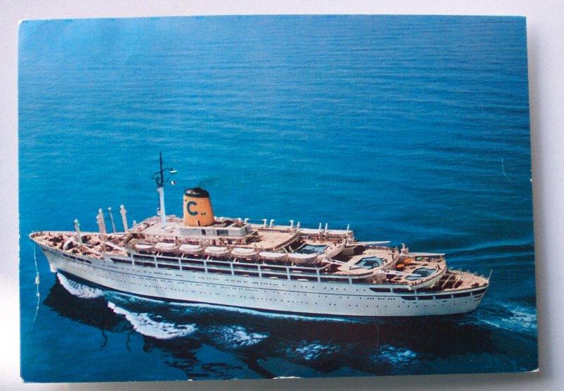 1966-Costa-Line-Cruise-Ship-Federico-Cartagena-Colombia