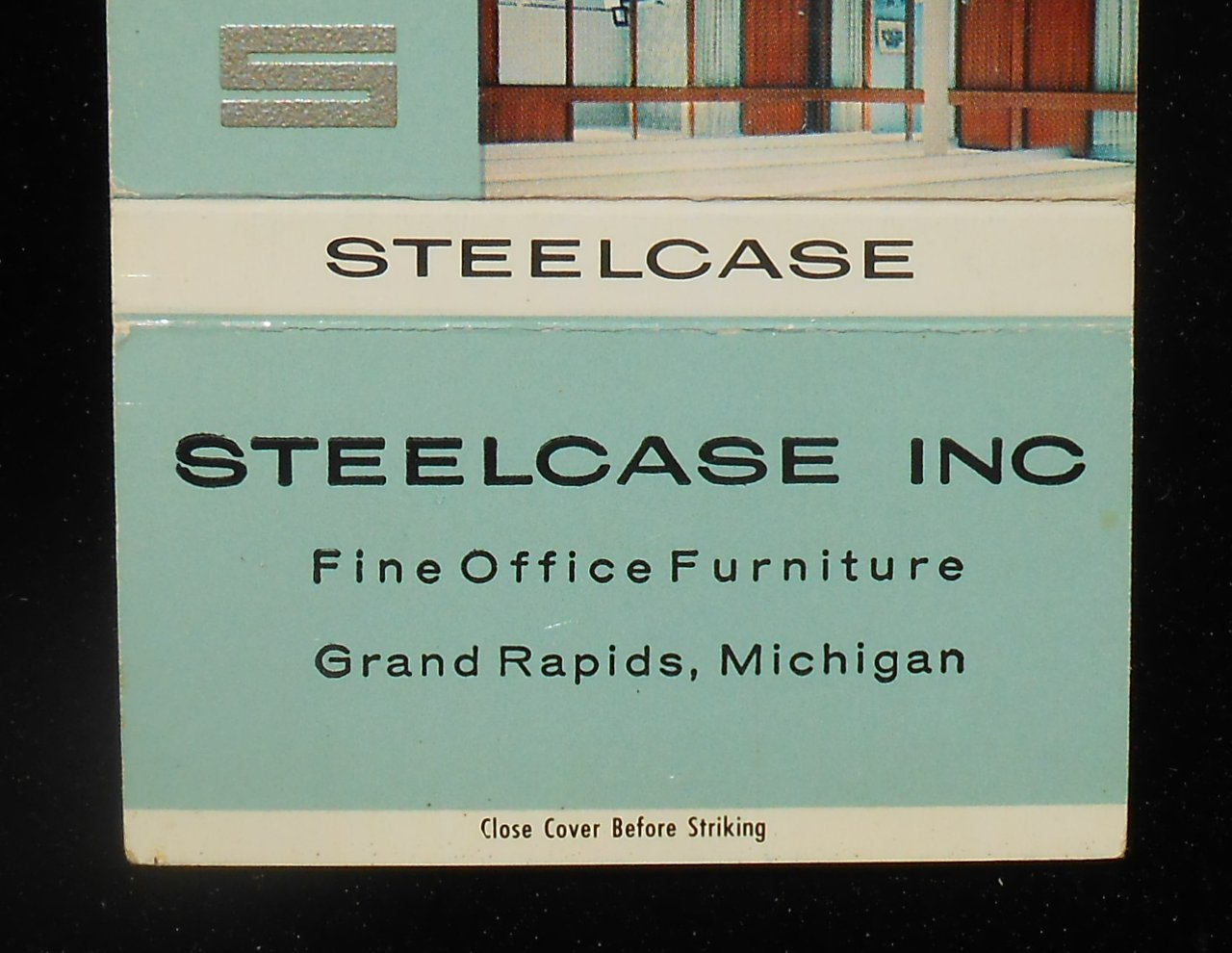 1960s Billboard Matchbook Office Furniture Steelcase Inc Photo Grand Rapids Mi Ebay