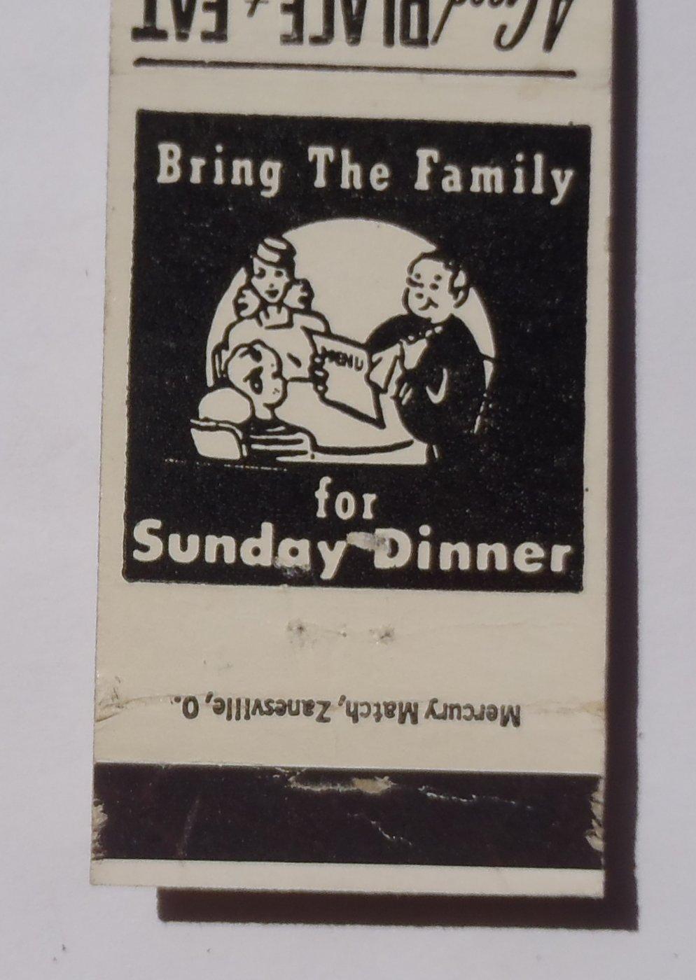 1950s Matchbook Tremont Chefonette Columbus OH | matchbooks ...