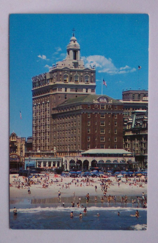 1950s The Shelburne Hotel Boardwalk Atlantic City NJ PC