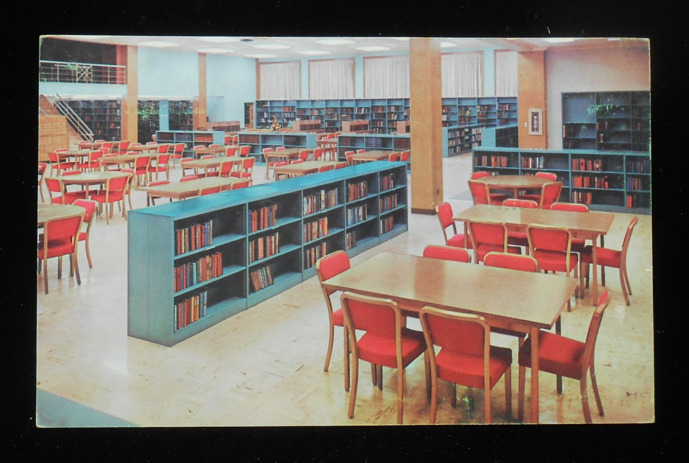 1950s Large Card Public Library Furniture General Fireproofing Boston Ma Lima Oh Ebay