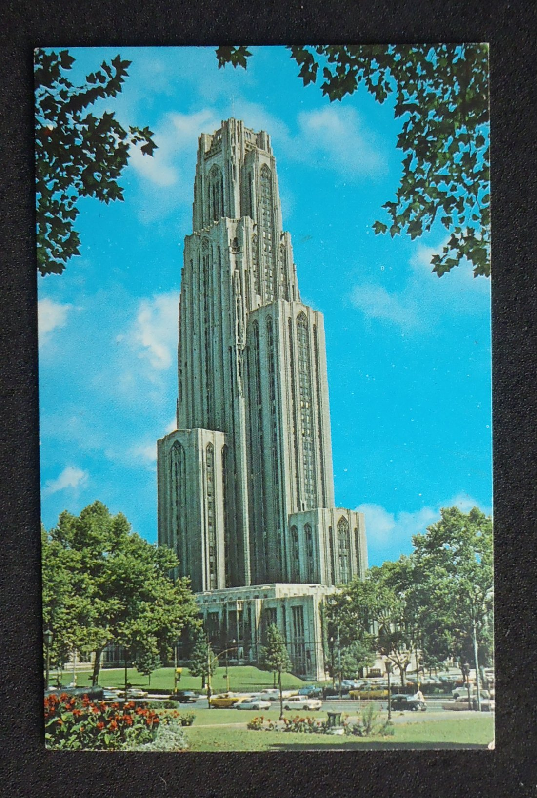 1960s Cathedral of Learning University of Pittsburgh Old