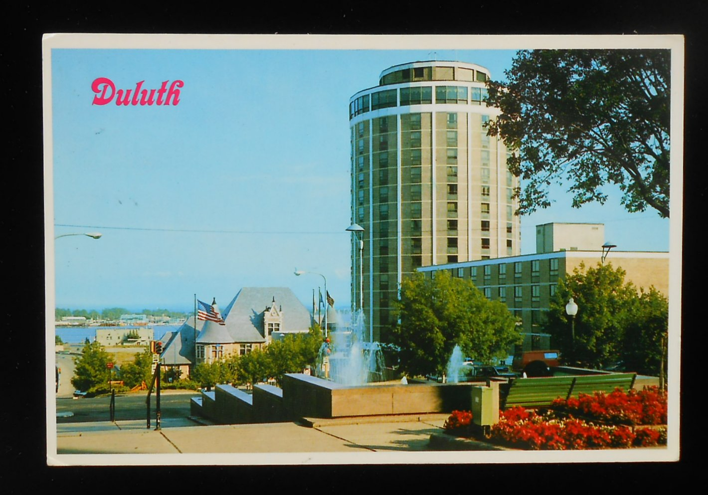 1984 radisson duluth hotel duluth mn st louis co postcard. Black Bedroom Furniture Sets. Home Design Ideas