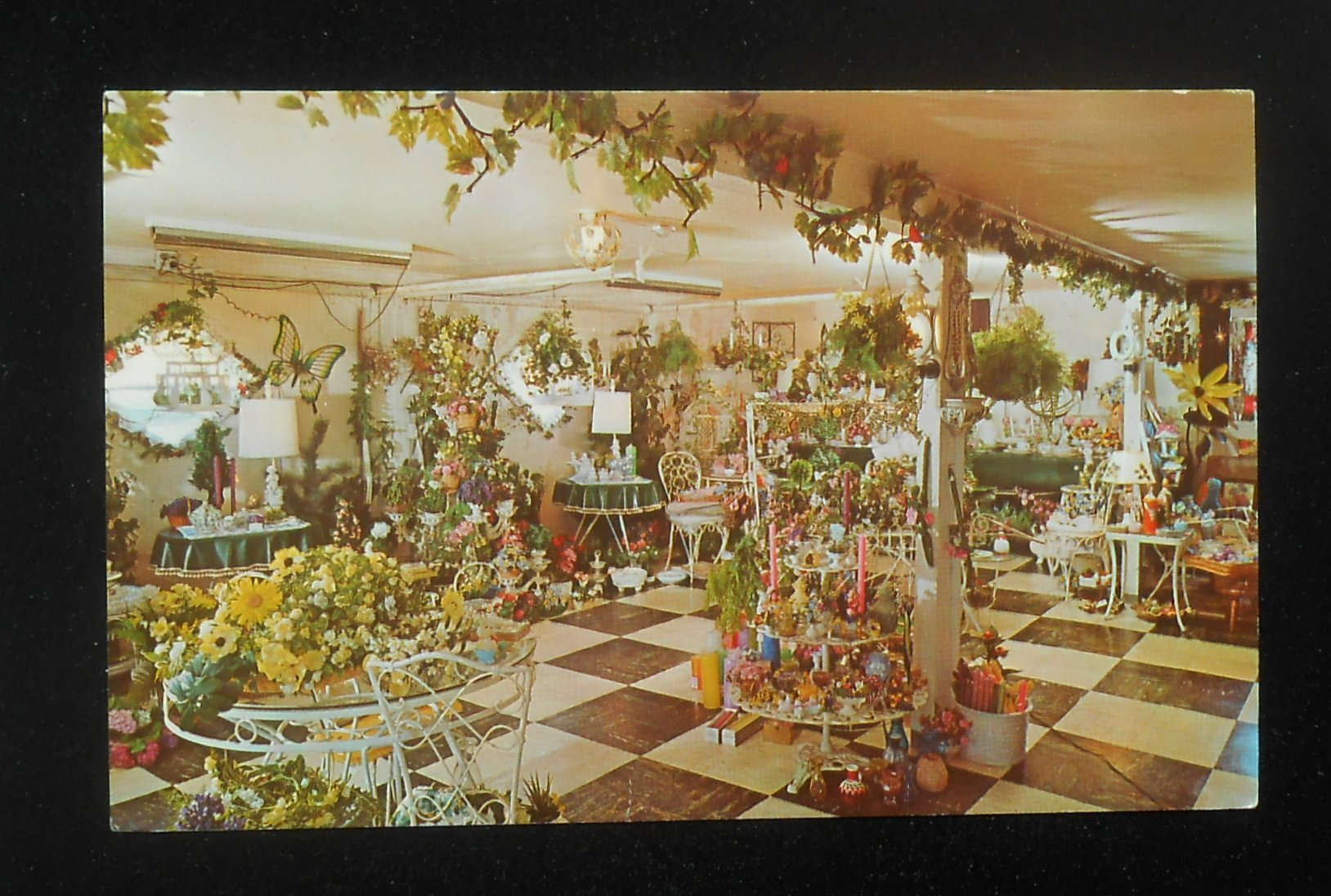 1960s interior garden room weathercock farm gift shop for Garden rooms jersey