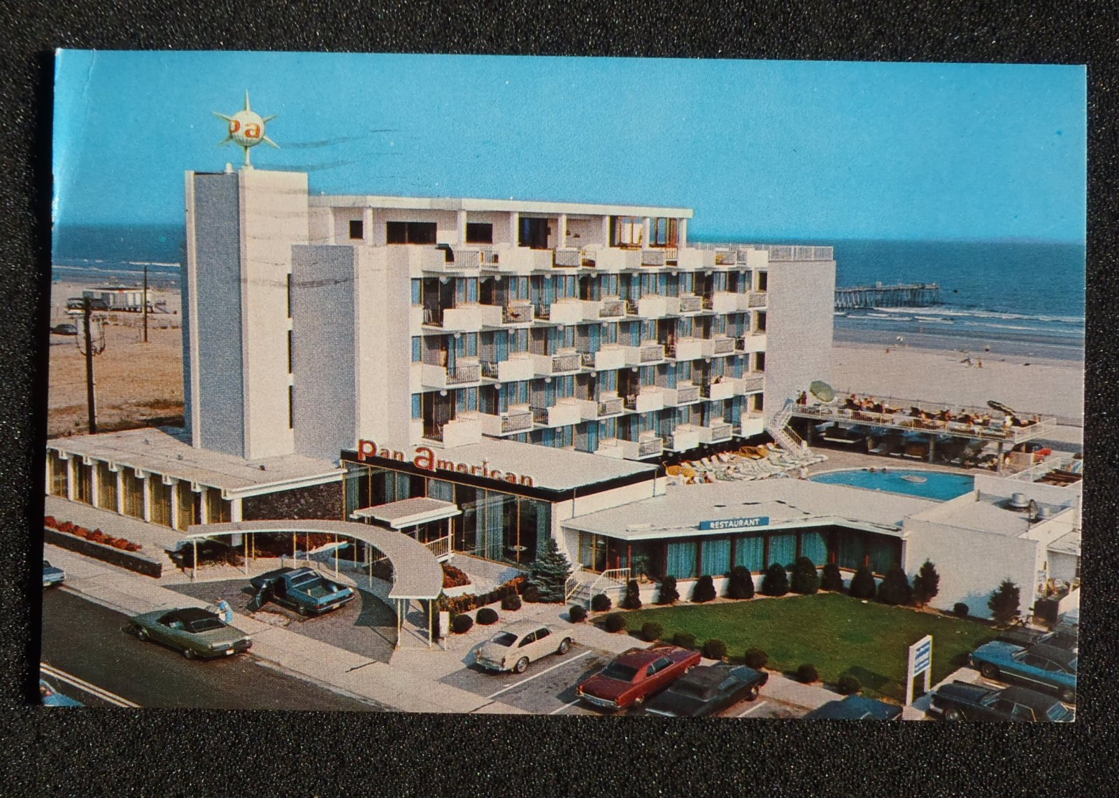 1975 Pan American Motor Inn Old Cars Wildwood Crest Nj