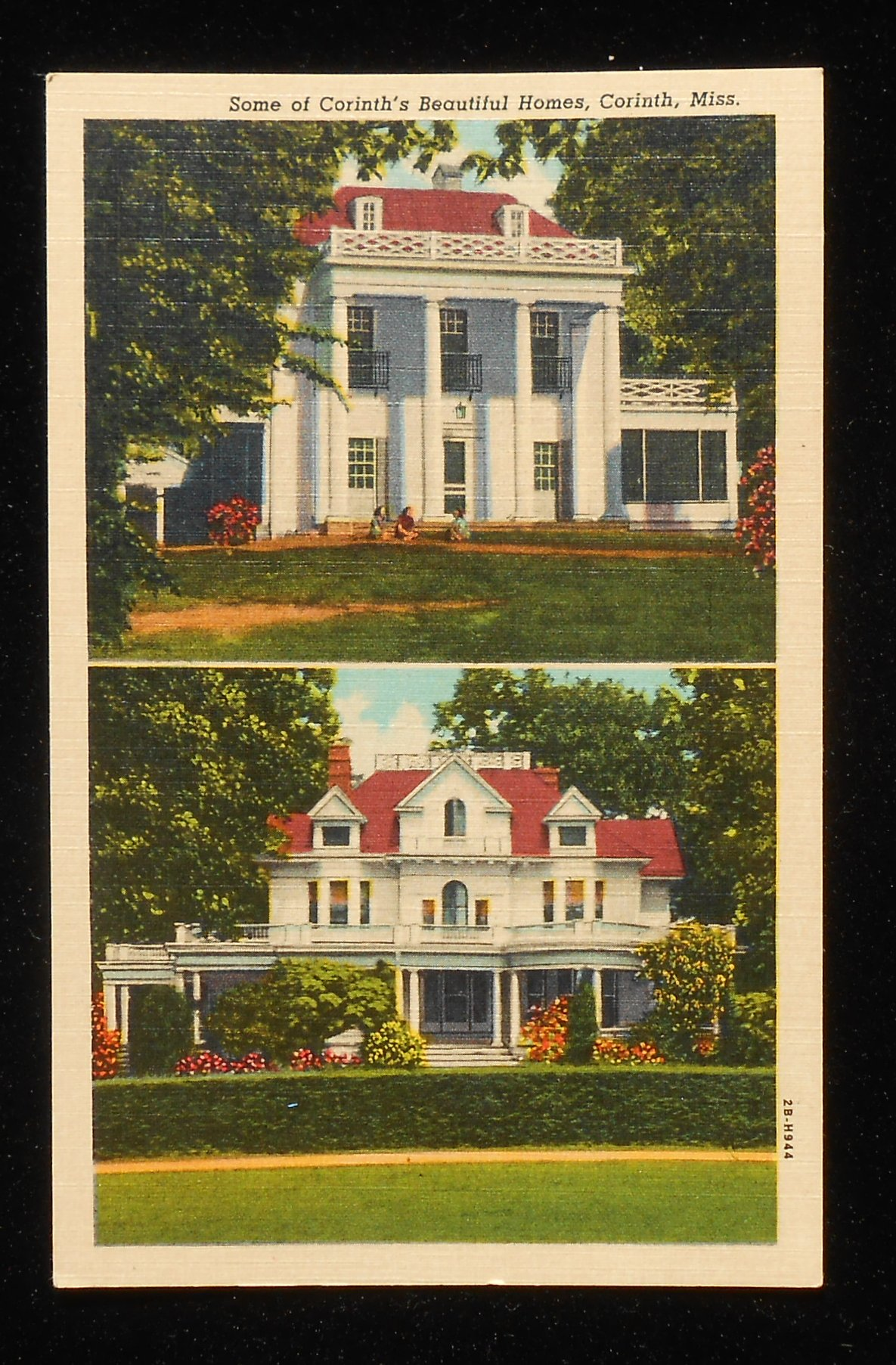 1940s some of the beautiful homes corinth ms alcorn co for Home builders in south ms