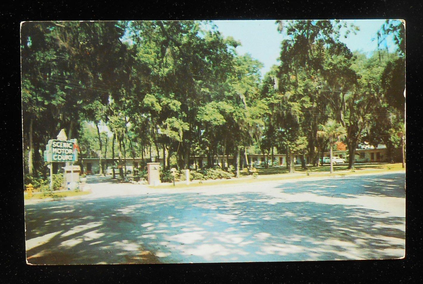1950s scenic motor motel court route 98 panama city fl bay for Bay motors panama city florida