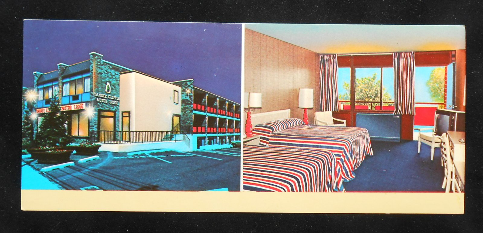 1970s Extra Long Yankee Clipper Motor Lodge 295 South Main