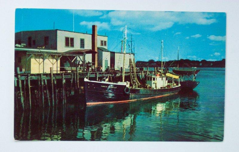 1950s fishing boats harbor portland me cumberland co pc ebay for Fishing store portland