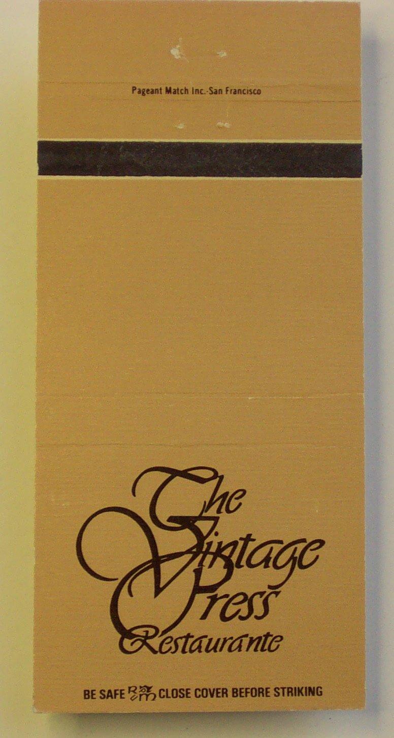Vintage Press in Visalia Vintage Press 216 N Willis St