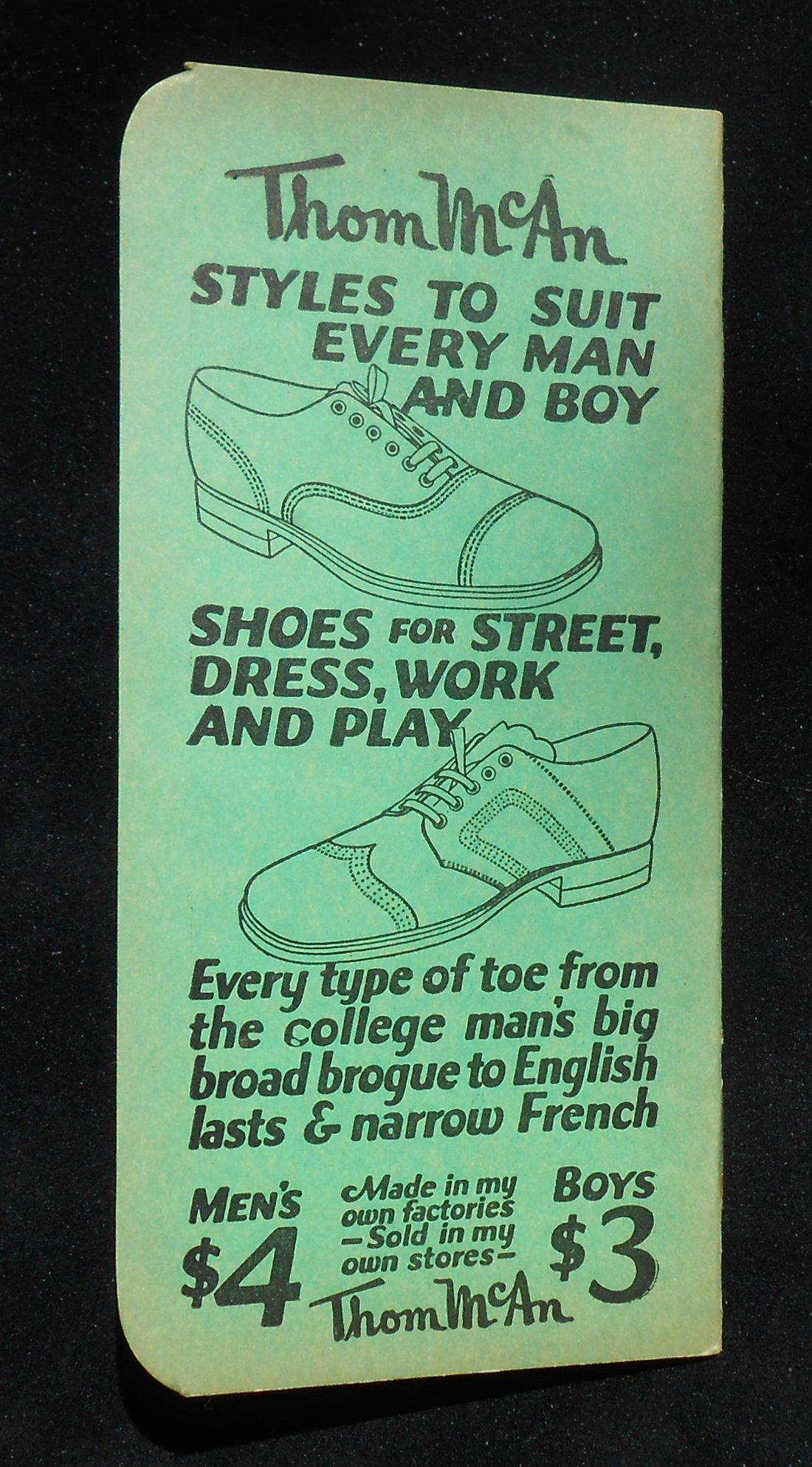 Details about 1928-1929 Calendar Thom McAn Shoe Co. 48 Lexington Ave