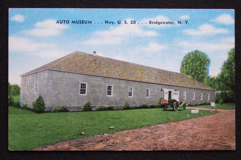 1940s Auto Museum Hwy U S 20 Bridgewater Ny Oneida Co Ebay