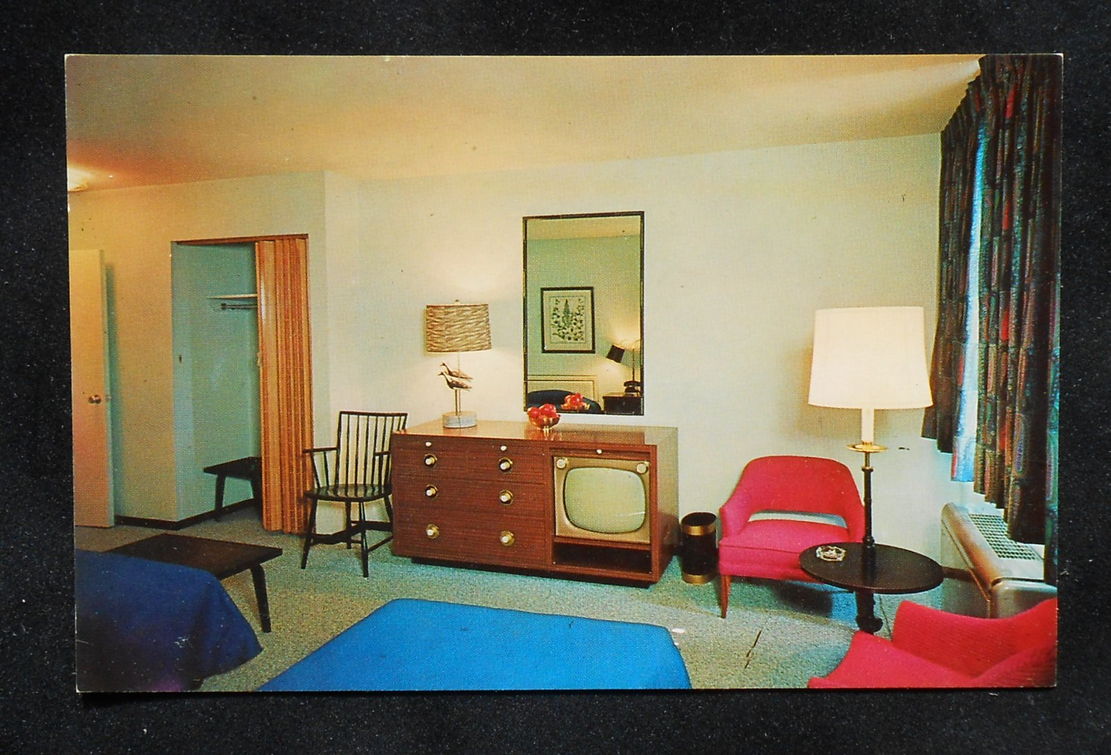1960s Interior Groton Motor Inn Routes 1 And Interstate 95