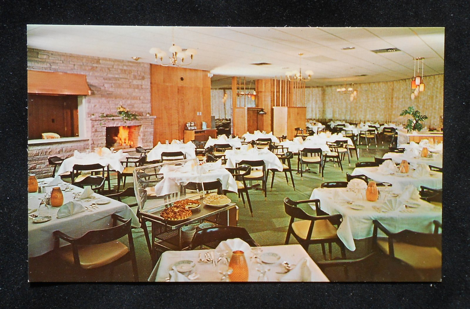 1960s Interior Fireside Dining Room And Lounge Gorham