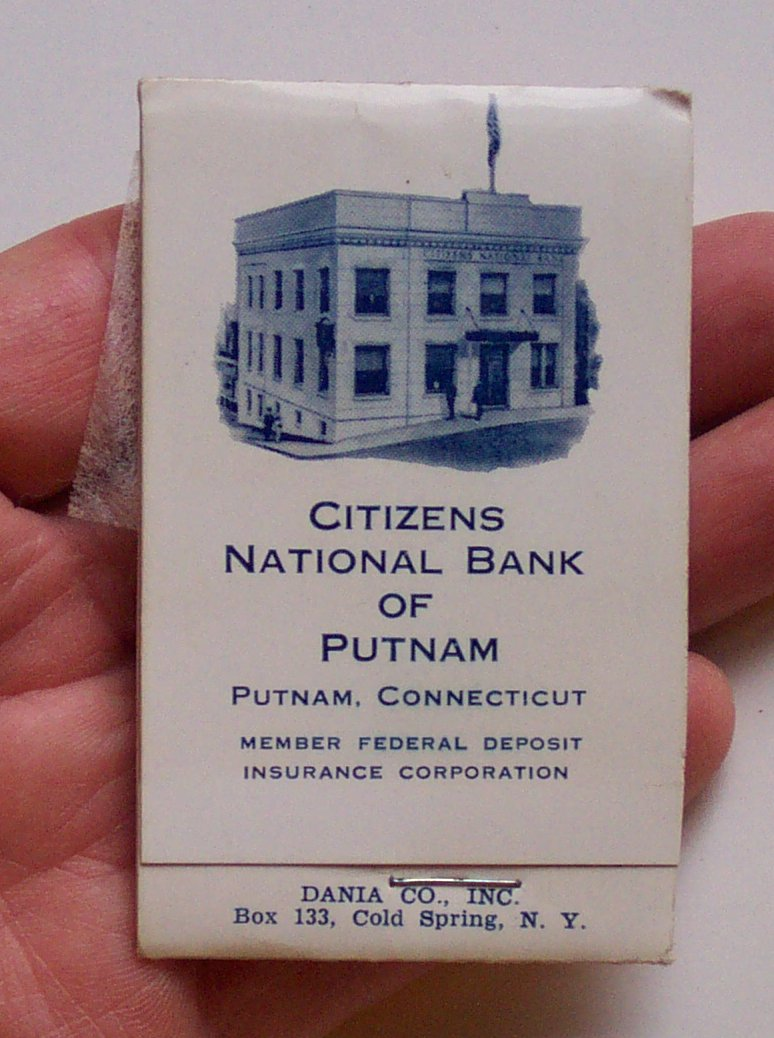 citizen national bank The legislation created $300 million in national currency in the form of notes  issued by the national banks but because most of this money was distributed in  the.