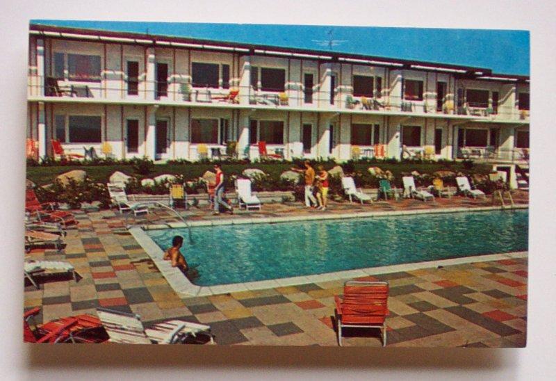 1960s Atlantis Motor Inn Gloucester Ma Essex Co Pc Ebay