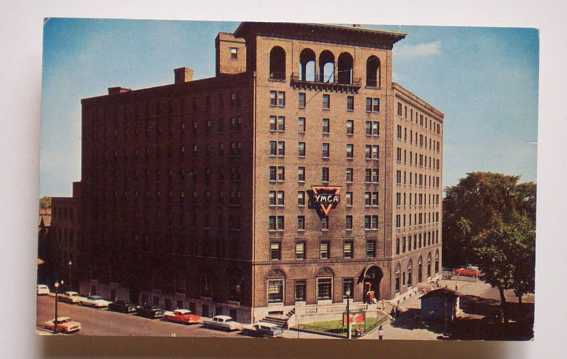 Used Cars For Sale Rochester Ny >> 1950s Old Cars YMCA Rochester NY Monroe Co Postcard | eBay