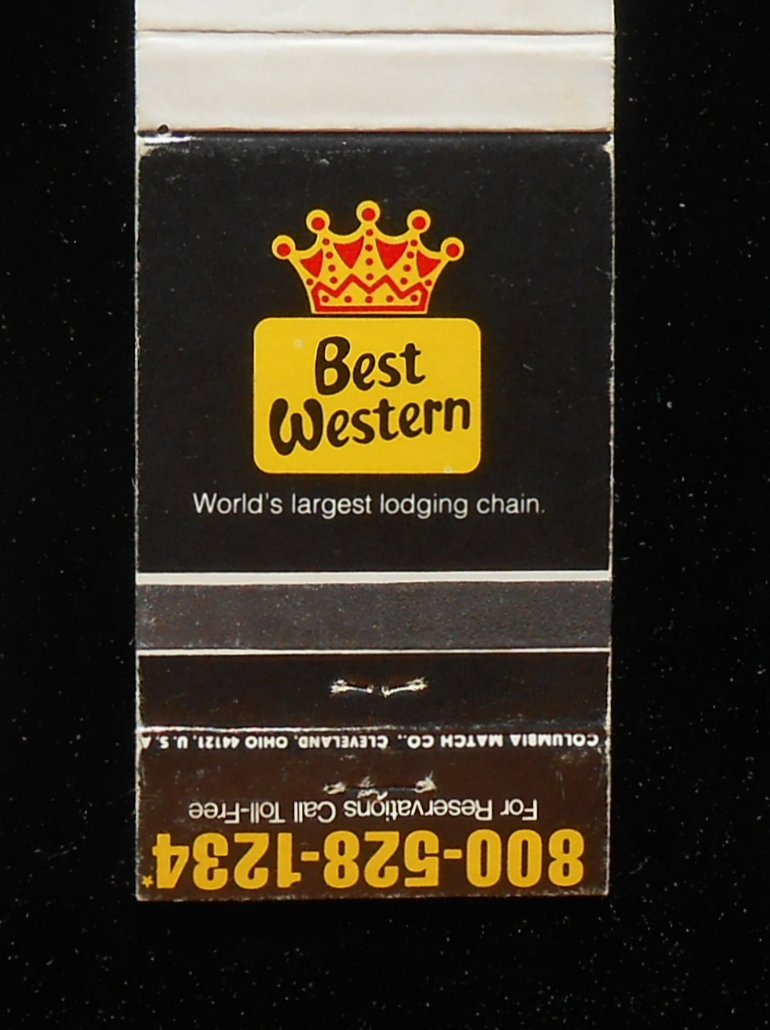 309 Best Images About Famous People Before They Were: 1980s? Matchbook Genetti Motor Lodge Best Western Route