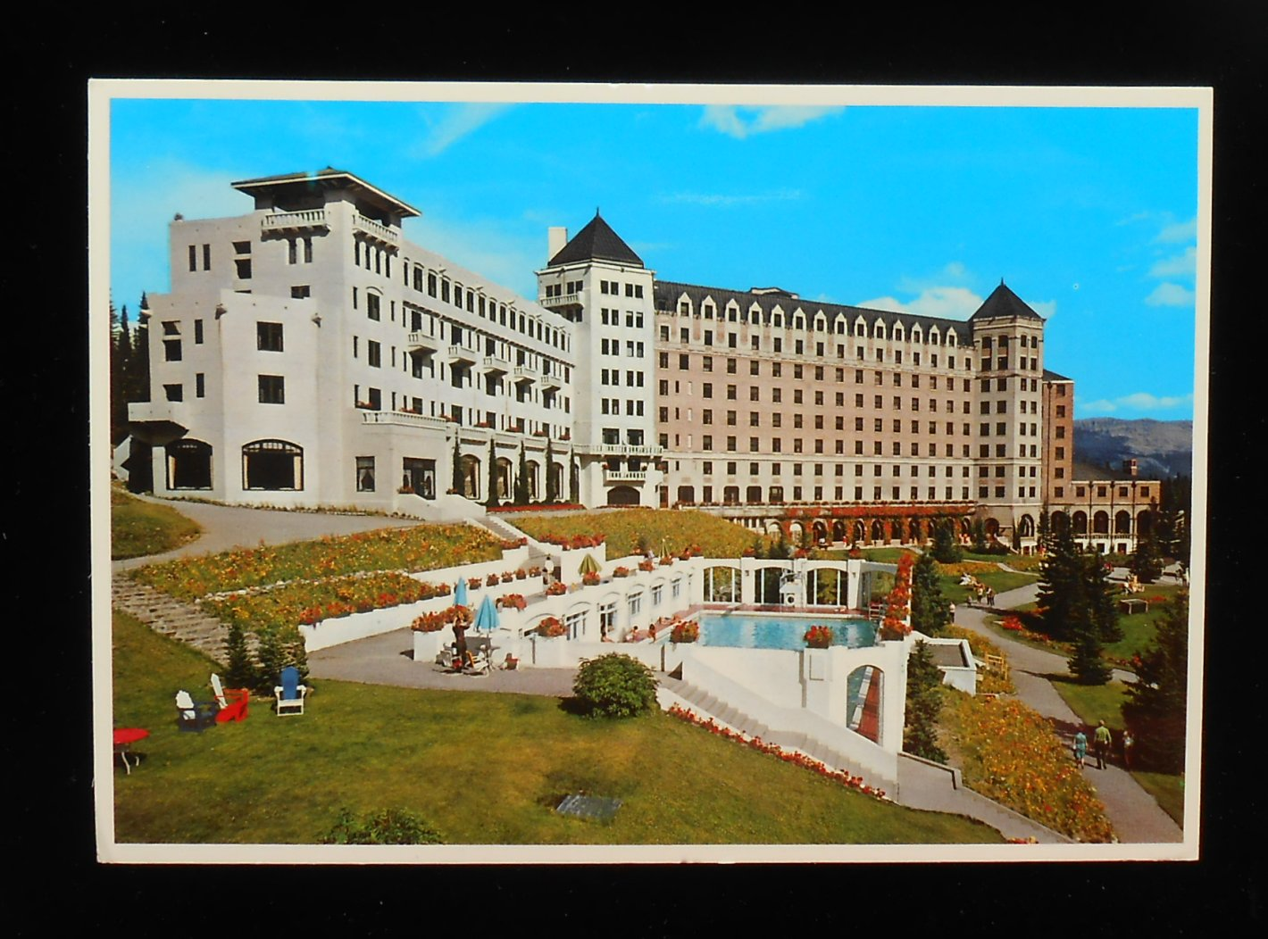 1970s Chateau Lake Louise Swimming Pool Canadian Pacific Rly Lake Louise Ab Ca Ebay