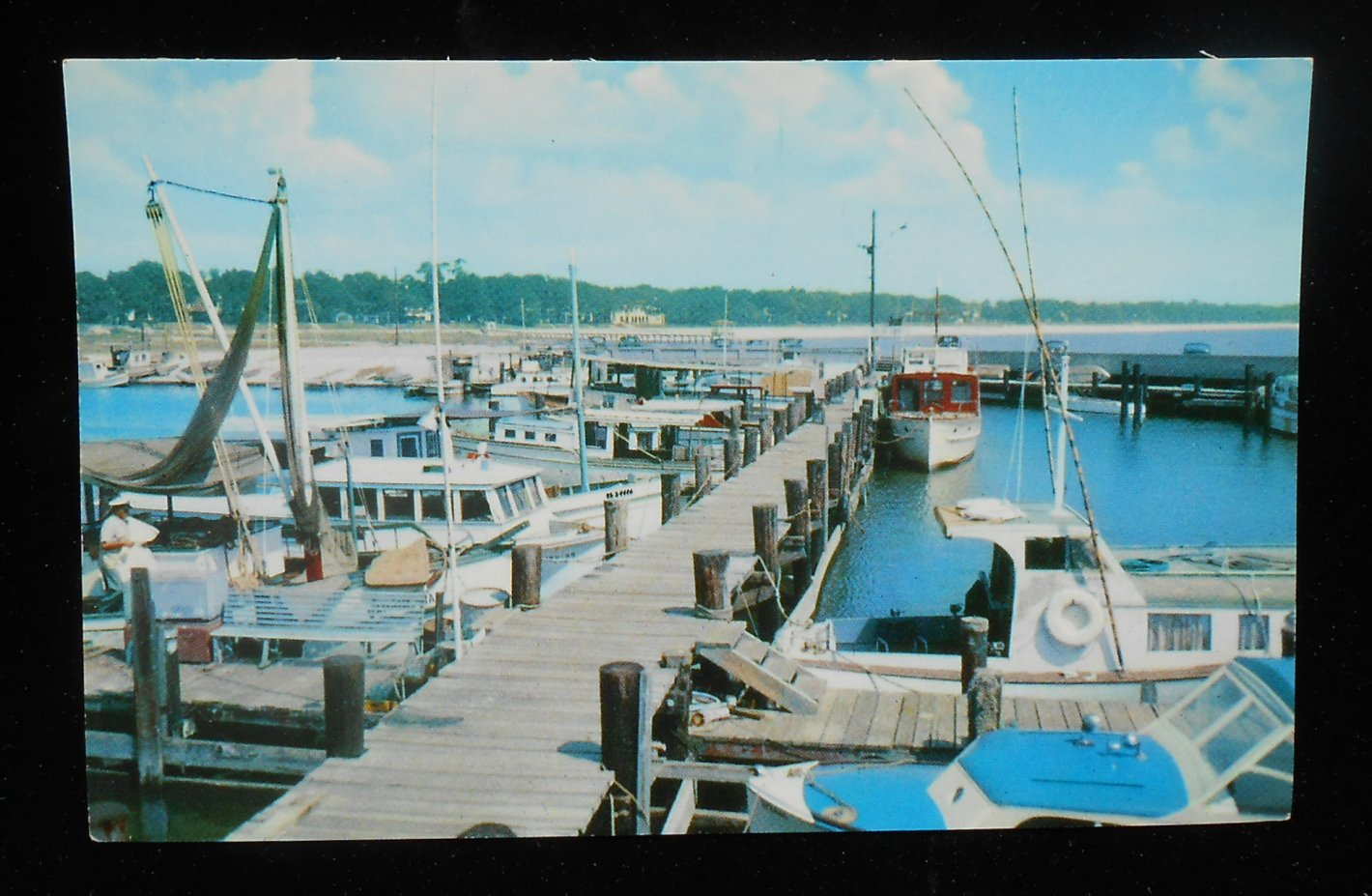 1950s deep sea fishing boats available for charter for Deep sea fishing gulfport ms
